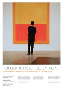 Populations of Cognition poster
