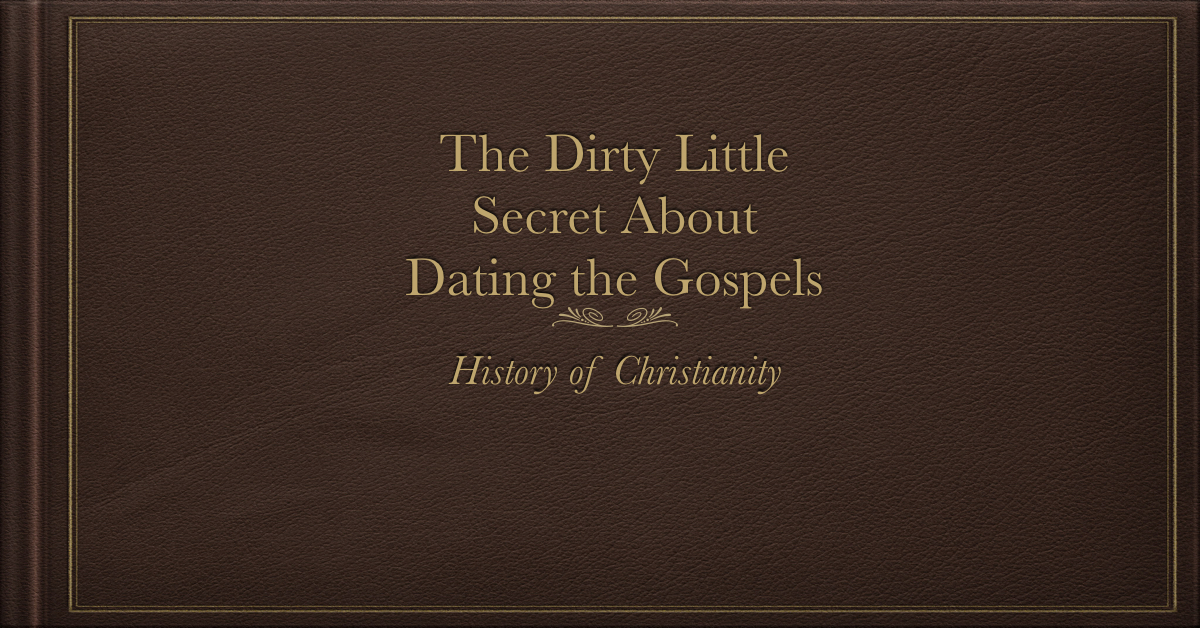 The history of christian dating