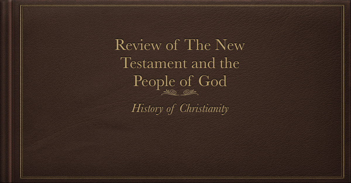 New Testament and the People of God