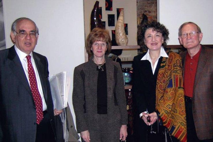 Mauricio Goihman-Yohr, Sheila Parish, Mrs. Johnson, Waine Johnson