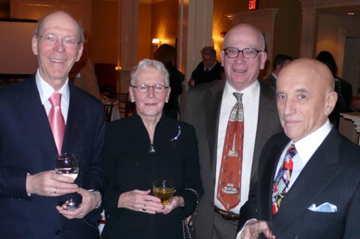 Gerd Plewig, Caroline Koblenzer, Lawrence Parish, Peter Koblenzer