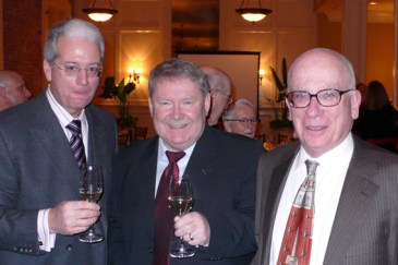 Anthony Benedetto, Torleif Roykenes, Lawrence Parish
