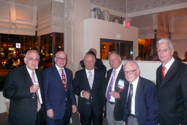 Mauricio Goihman-Yahr, Lawrence Parish, Joseph Pace, Richard, Charles Steffen, Anthony Benedetto