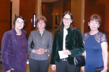 Anne Black, Sheila Parish, Muriel Lambert