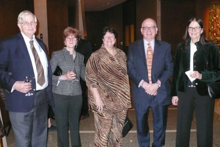Clark Lambert, Sheila Parish, Marcia Ramos-e-Silva, Lawrence Parish, Muriel Lambert