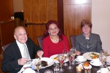 Mohamed Amer, Susan Amer, Sheila Parish