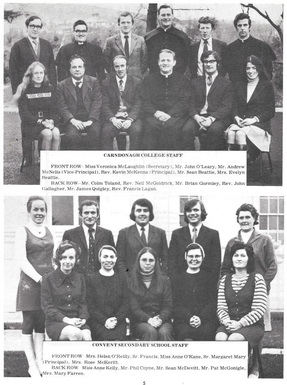 Image of Staff Photo in Inish Duinn Carndonagh Community School