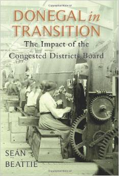 Cover of Donegal in Transition by Seán Beattie