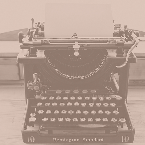 history of education society typewriter - Resources