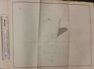 Sections of a cone in Charles Davies's Treatise on Shades and Shadows (New York: Wiley & Putnam, Collins, Reese, & Co., 1838).