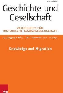 cover of Geschichte und Gesellschaft 43.3 (2017)
