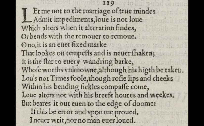 "257 Shakespeare's Best | Sonnet 116 (""Let me not to the marriage of true minds"")"