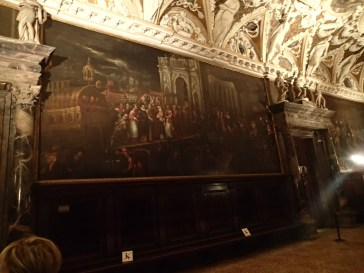 mural inside Doge's Palace