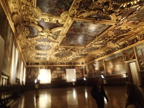 main hall at Doge's Palace