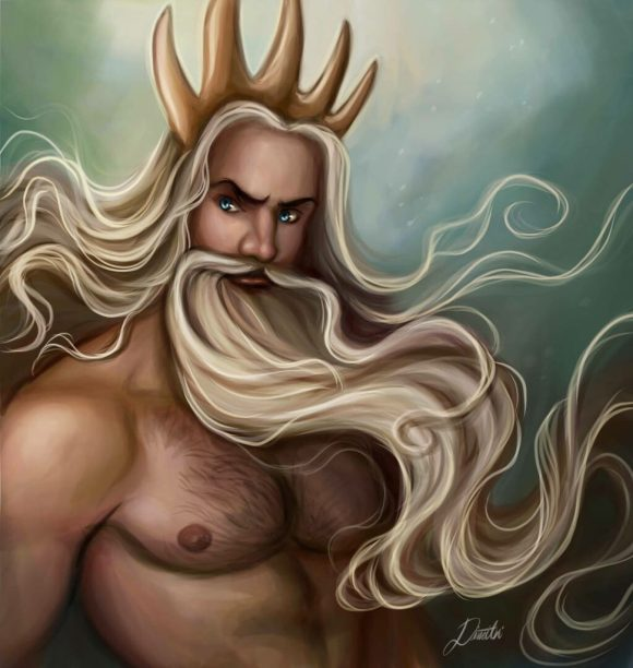"""""""King Triton"""" by Dimitris Karakousis"""