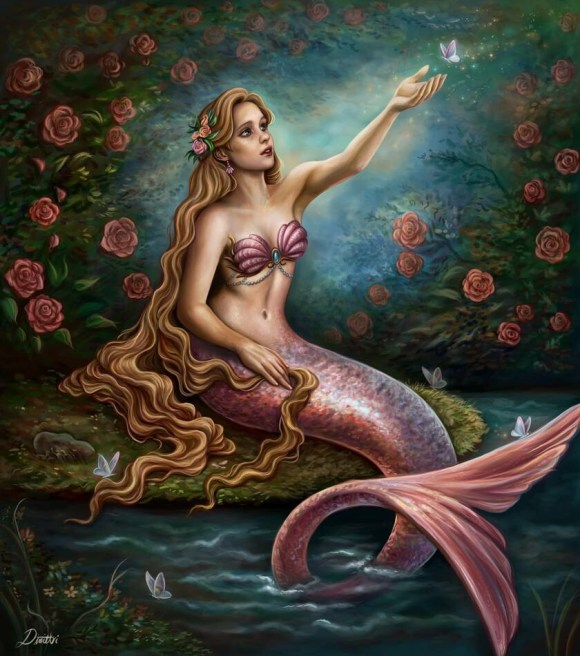 """Pink Mermaid"" by Dimitris Karakousis"