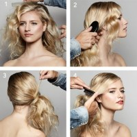 Wedding Hairstyles 101: An Effortless Side Ponytail ...