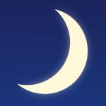 Moon, darkness, night image