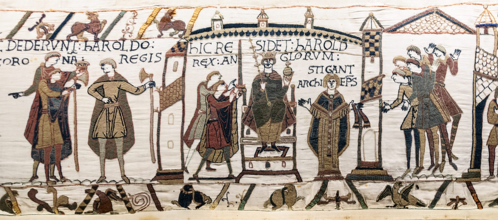 Bayeux Teppich Bayeux Tapestry Historypod