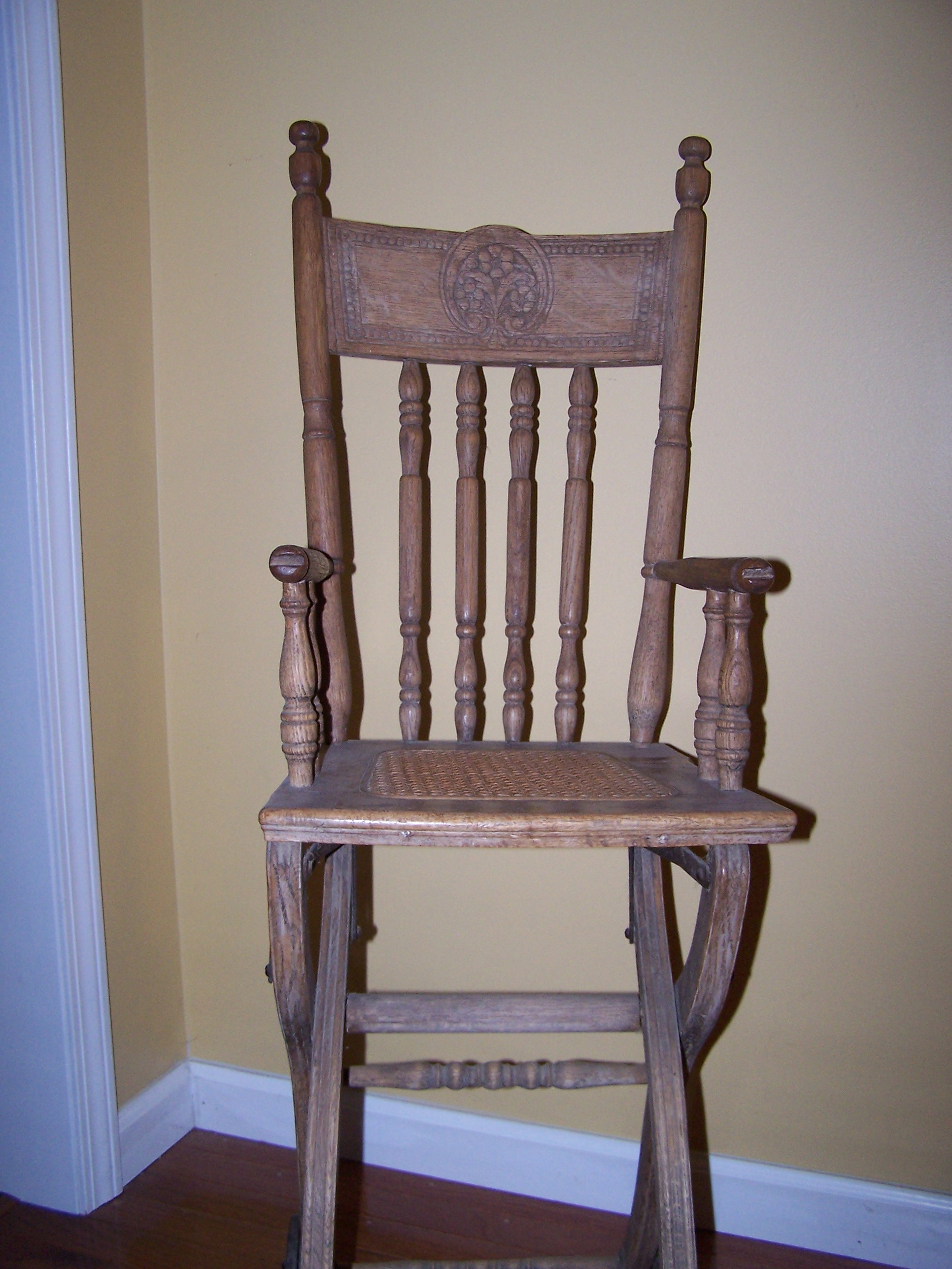 antique high chairs best sport folding baby chair history rambler
