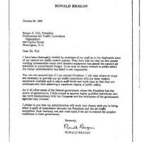 Ronald Reagan and the PATCO Strike: Broken Promises and a Broken Union