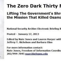 Operation Neptune Spear: The Killing of Bin Laden