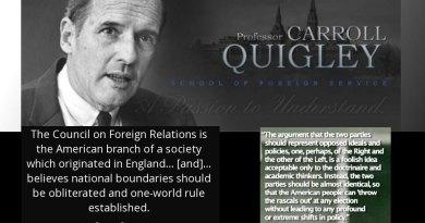 Video & Audio: Professor Quigley: Evolution of Civilisation: How the American Elite Think