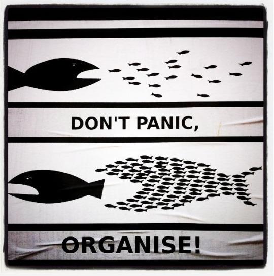 Excellent meme: Whites: Don't Panic; ORGANIZE! – Mr Bonds improved Jewish version!