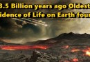3.5 Billion Years ago: Scientists say Ancient fossil microorganisms indicate that life in the universe is common