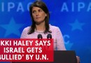 9 Pics: Nikki Haley: A total moron; in love with the Jews; idiot for Israel – Pulling the USA out of UN due to Israel!