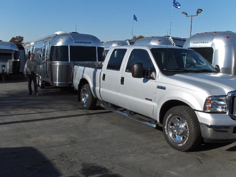 2006 F-250 & 2007 23' Airstream Safari