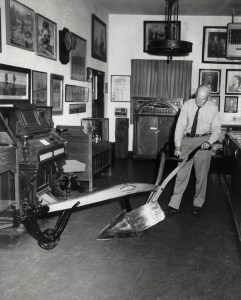 Clyde Arbuckle and the Knapp Plow