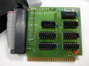 Applecrypt card