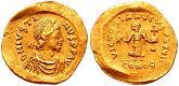 Byzantine Emperor Justin I (450-527)