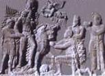 Shapur I (215-72) of Persia using Valerian I (213-60) as a footstool