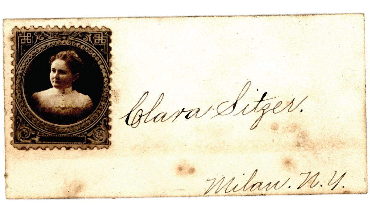 Clara Sitzers calling card