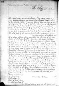 1895 Cornelia Gilson deed