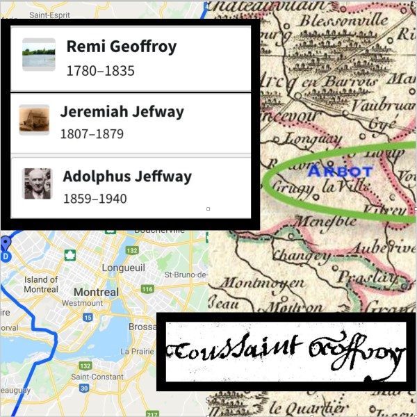 GEOFFROY TO JEFWAY TO JEFFWAY