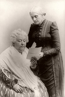 History's Women: Misc. Articles: Elizabeth Cady Stanton, Champion of Women's Rights