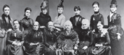 History's Women: Misc. Articles: Women in Social Reform in the 19th Century - Social Reforms Expressing the New attitude of Humanity to the Lower World - Founding members of the International Coucil of Women (ICW). Washington New York, 1888