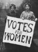 History's Women: Misc. Articles: Women in Political Organizations in the 19th Century - Social Reforms Expressing the New attitude of Humanity to the Lower World - Women Who are Polling for Women's Rights