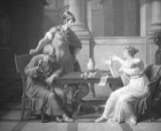 History's Women: Misc. Articles: Woman Before the Christian Era - Europe - Aspasia and Socrates