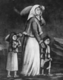 History's Women: Misc. Articles: General Conditions During the Dark Ages from 500-1100 A.D. - Divorce - A Divorced Woman & her Children
