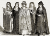 History's Women: Misc. Articles: Influence of Medieval Institutions - Superstitious Devotion - Nuns