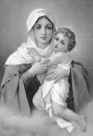 History's Women: Misc. Articles: Influence of Medieval Institutions - Religion and Love - The Virgin Mary