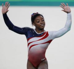 History's Women: Women in Sports: Simone Biles - Olympic Gymnastic Champion
