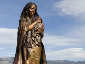 SACAJAWEA - The Monument