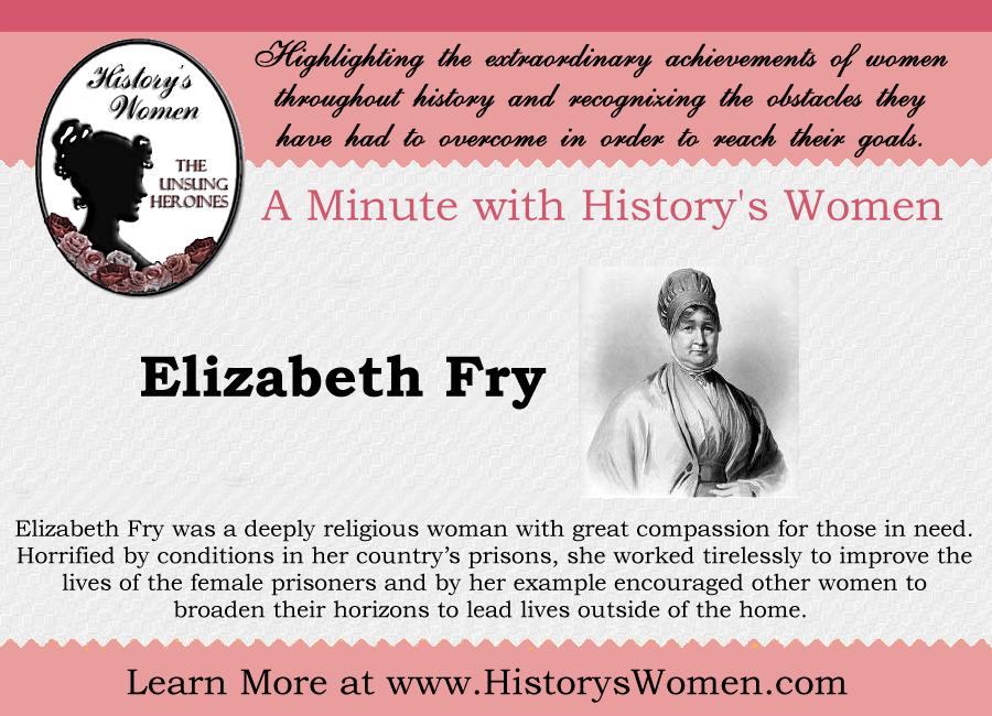 Social Reformer Elizabeth Fry