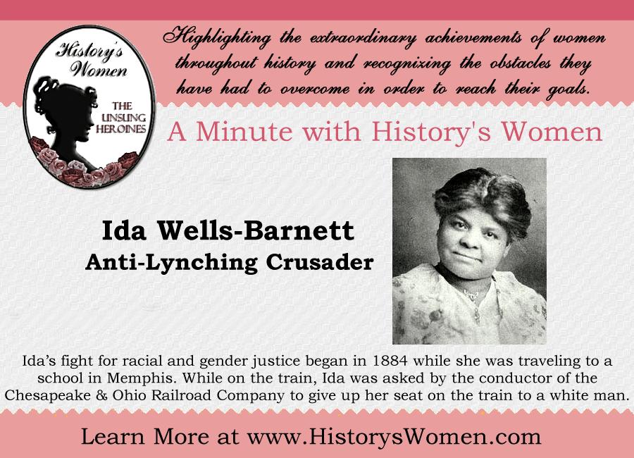 Social Reformer Ida Wells-Barnett