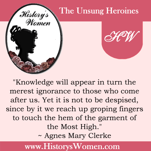 Quote by Agnes Mary Clerke
